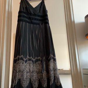 Black cocktail dress.